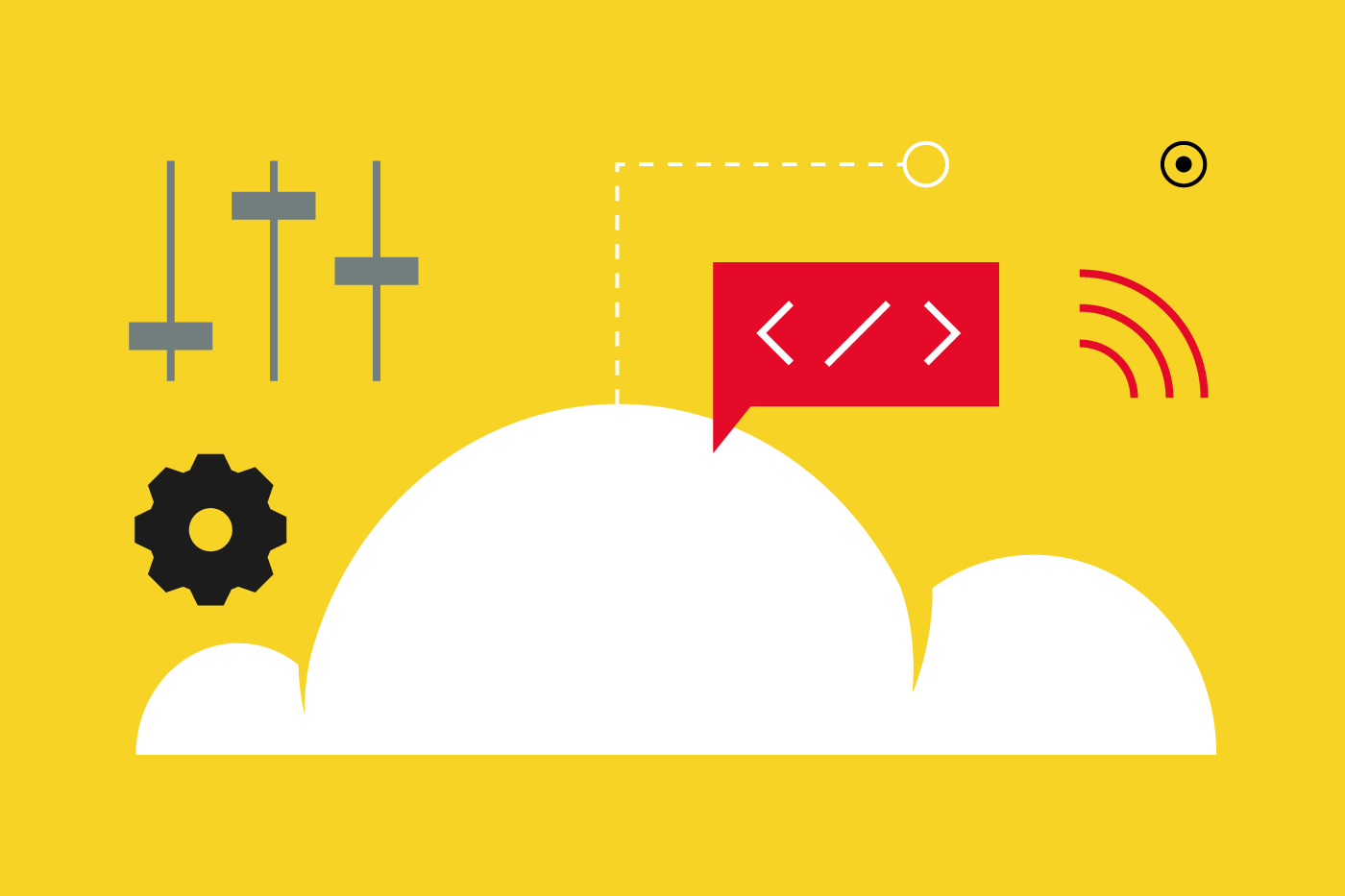 What are the advantages of managing your website content in the cloud?