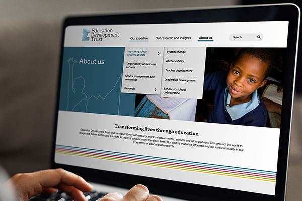 Quba Launches New Ed Dev Trust Site